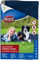 Trixie insect shield outdoor deken donkerblauw 100x70 cm