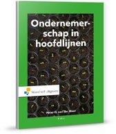 Boek cover Ondernemerschap in hoofdlijnen van Peter van der Meer (Hardcover)