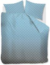 Beddinghouse Vinz - Dekbedovertrek - Lits-jumeaux - 240x200/220 cm - Blauw
