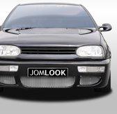 Embleemloze grill geschikt voor VW Golf 3 - Zwart