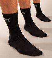 Puma hoog 3 paar sokken zwart