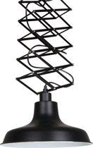 Unieke schaarlamp - Lumidem Remon - zwart