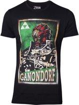 Zelda - Propaganda Ganondorf Men's T-shirt - XL