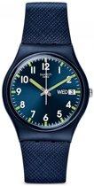 Swatch Originals Gent Sir Blue horloge  - Blauw