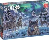 Winter wolfen 500 stukjes