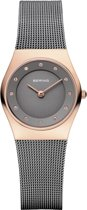 BERING 11927-369 - Horloge - Staal - Grijs - 27 mm