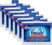 Finish - Regular - Vaatwasmachinereiniger - 6 x 250 ml