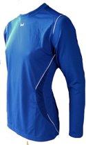 KWD Sportshirt Mundo - Voetbalshirt - Kinderen - Maat 152 - Blauw/Wit