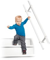 Mippaa Stair Trainer Basisset - Kindertrapleuning - Wit