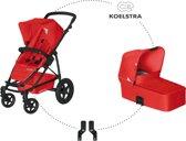 Koelstra - Binque Daily Combi Kinderwagen - Rood