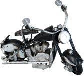 Model motor 11*6*7 cm Wit/zwart | 6Y1992 | Clayre & Eef
