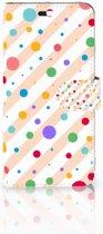 Huawei P10 Plus Boekhoesje Design Dots