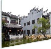 Chinese architectuur in Yueyang Plexiglas 30x20 cm - klein - Foto print op Glas (Plexiglas wanddecoratie)