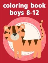 coloring book boys 8-12: Easy and Funny Animal Images