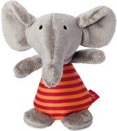 sigikid Mini rammelaar olifant Red Stars 41176