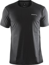 Craft Cool Tee With Mesh Men black xxl