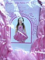 Prinsessen jurk Roze 5 a 6 jaar