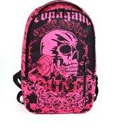 Adventure Bags DLX Laptoprugzak 15 inch 15 l Roze Zwart