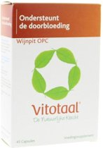 Vitotaal® Wijnpit OPC - 45 capsules - Voedingssupplement