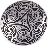 keltische brooche Kells Key spiral Broche