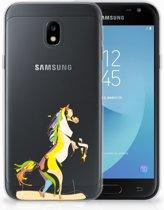 Samsung Galaxy J3 2017 Uniek TPU Hoesje Horse Color