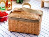 Picknickmand outdoor en kamperen - Bruin