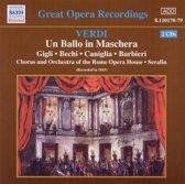 Great Opera Recordings - Verdi: Un Ballo in Maschera / Serafin et al