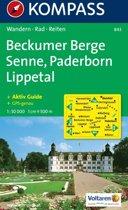 Kompass WK843 Beckumer Berge, Senne, Paderborn, Lippetal