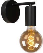 Lucide LEANNE - Wandlamp - E27 - Zwart