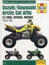 Suzuki/Kawasaki Arctic Cat ATVs (03 - 09)