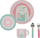 Little Dutch Melamine Servies 5-delig Pink