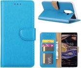 Boekmodel Hoesje Nokia 7 Plus - Turquoise