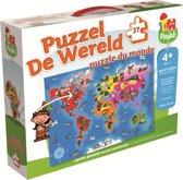 Jumbo Puzzel De Wereld - Puzzel - 37 stukjes