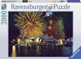 Ravensburger puzzel Vuurwerk boven Sydney