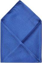 Pochet in een fijne satijnen kwaliteit, kobalt blauw #pch5, maat