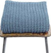 Loop.a life - Shawl -    Duurzame Sjaal - Lichtblauw - Maat -