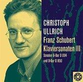 Schubert: Klaviersonaten Vol. 3