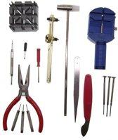 16 delig Horloge gereedschap set watch tool kit