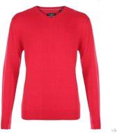 Pierre Cardin V-Hals Pullover Red