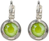 Camps & Camps oorbel-1A837CLI Crystal Lime