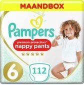 Pampers Premium Protection Pants Maat 6- 112 Stuks Luierbroekjes Maandbox