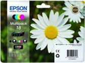 Epson 18 - Inktcartridge / Zwart / Cyaan / Magenta / Geel