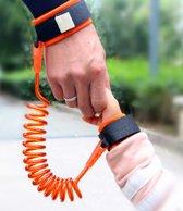 Veiligheidsband voor kinderen Anti Lost polsband HaverCo / Oranje / Voor in pretparken veiligheid riem