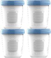 Babyvoeding bewaarbekers 180 ml | BPA Free | 10 stuks | bewaarbakjes - opslagbekers