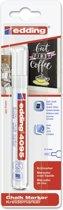 Edding - Krijtmarker e-4095 - Op blister - Wit