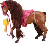 Paard paradise horse 27 cm bruin