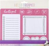 American Crafts - Hello Dreamer BlocNotes - 52 pagina's