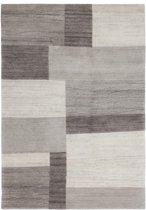 Lalee Wollen vloerkleed met natuurlijke vezels 160 x 230 Grijs
