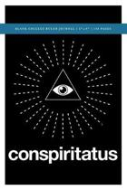 Q Anon +++ Conspiritatus Blank College Ruled Journal 6x9