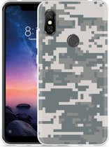 Xiaomi Redmi Note 6 Pro Hoesje Army Digi Camouflage